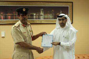 Церемония получения подданства ОАЭ