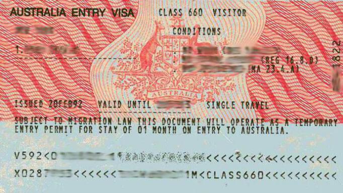 Австралийская рабочая виза