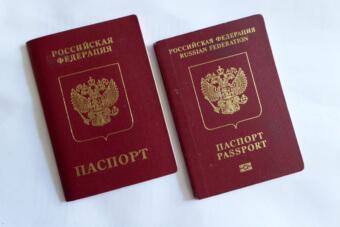 Российские заграничные паспорта
