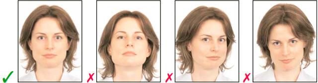 Примеры фото на документы