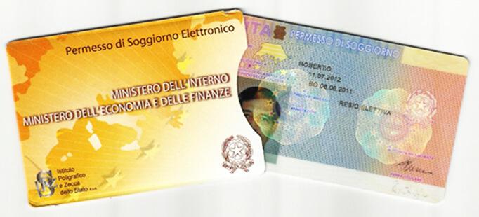 Итальянский вид на жительство