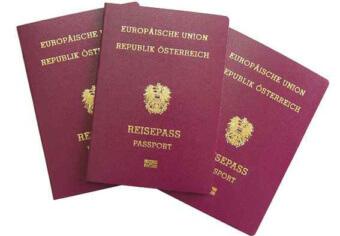 Австрийские паспорта