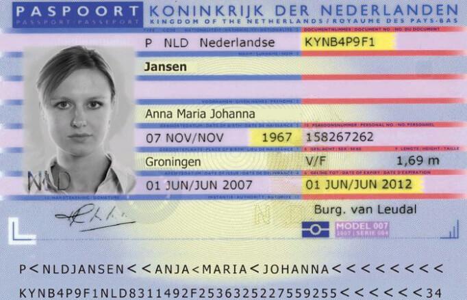 Нидерландский паспорт