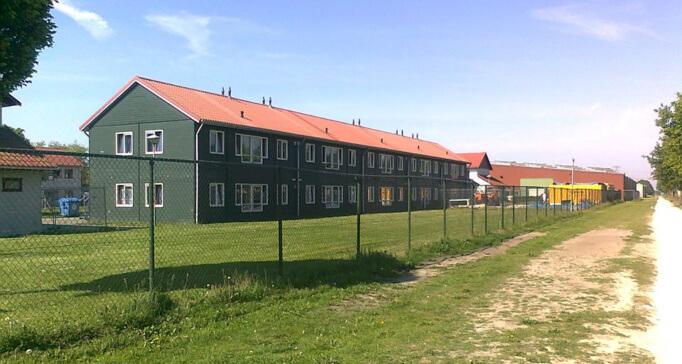 Голландский лагерь беженцев