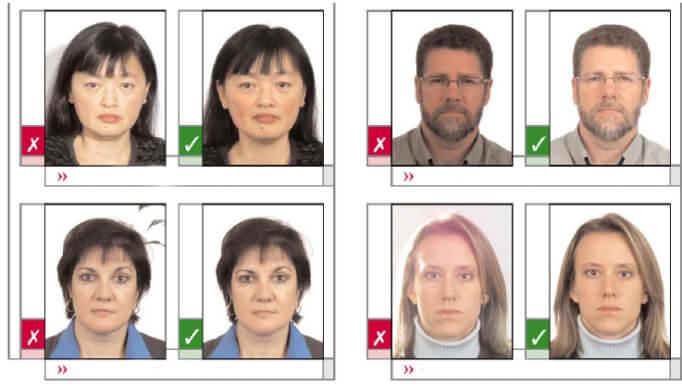 фото паспорт рф требования