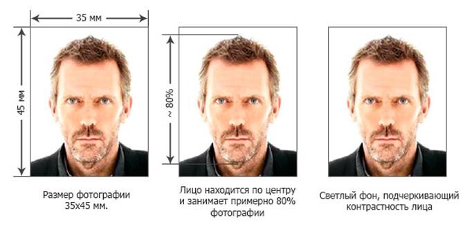 Примеры фото на гражданство