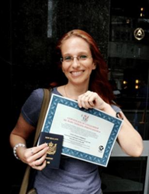 Получение сертификата о гражданстве