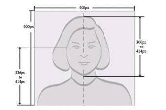 Пример фотографии на Грин карту