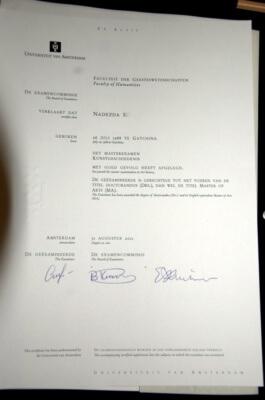 Диплом об образовании в Голландии