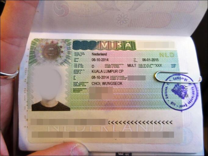 Национальная виза Нидерландов