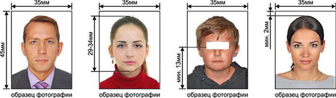 Образцы фотографий на молдавское гражданство