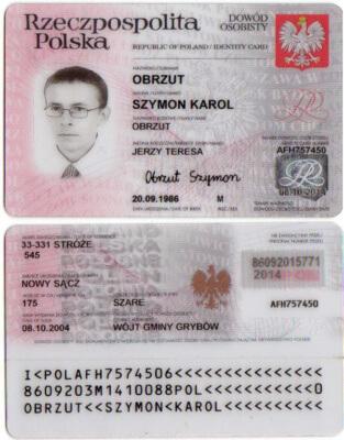 Идентификационная карта гражданина
