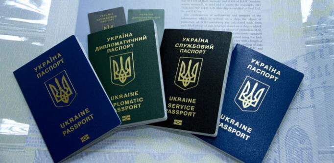 Загранпаспорта Украины