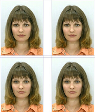 Пример фото на ВНЖ