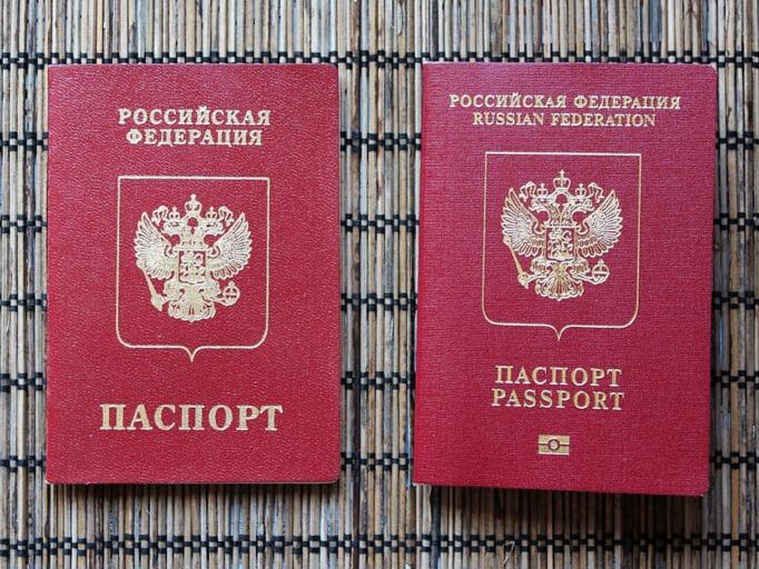 Заграничные паспорта России